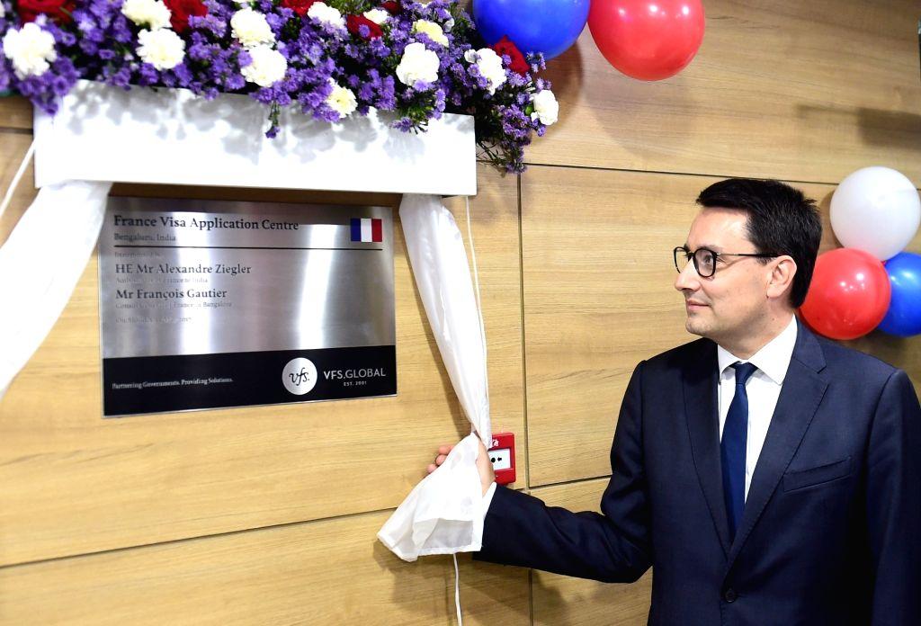 French Visa Application Centre - inauguration