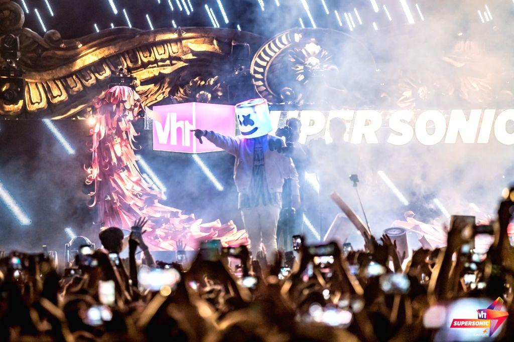 American DJ Marshmello.
