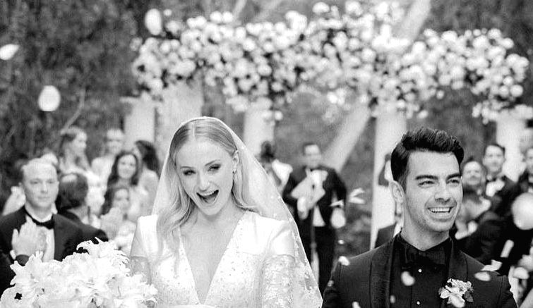 """American pop singer Joe Jonas shared the first photograph from his wedding with """"Game Of Thrones"""" star Sophie Turner. The couple exchanged wedding vows for the second time in the picturesque locales of Paris last week. But the two took to Instagram t"""