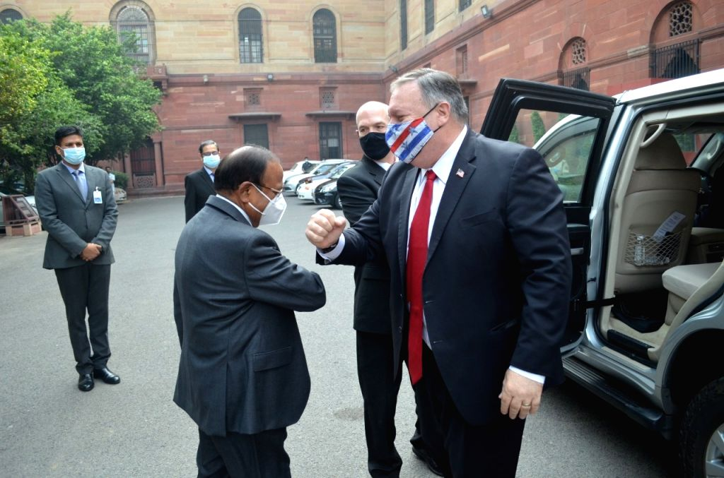 Amid China stand-off along LAC, NSA Doval meets Pompeo in Delhi.