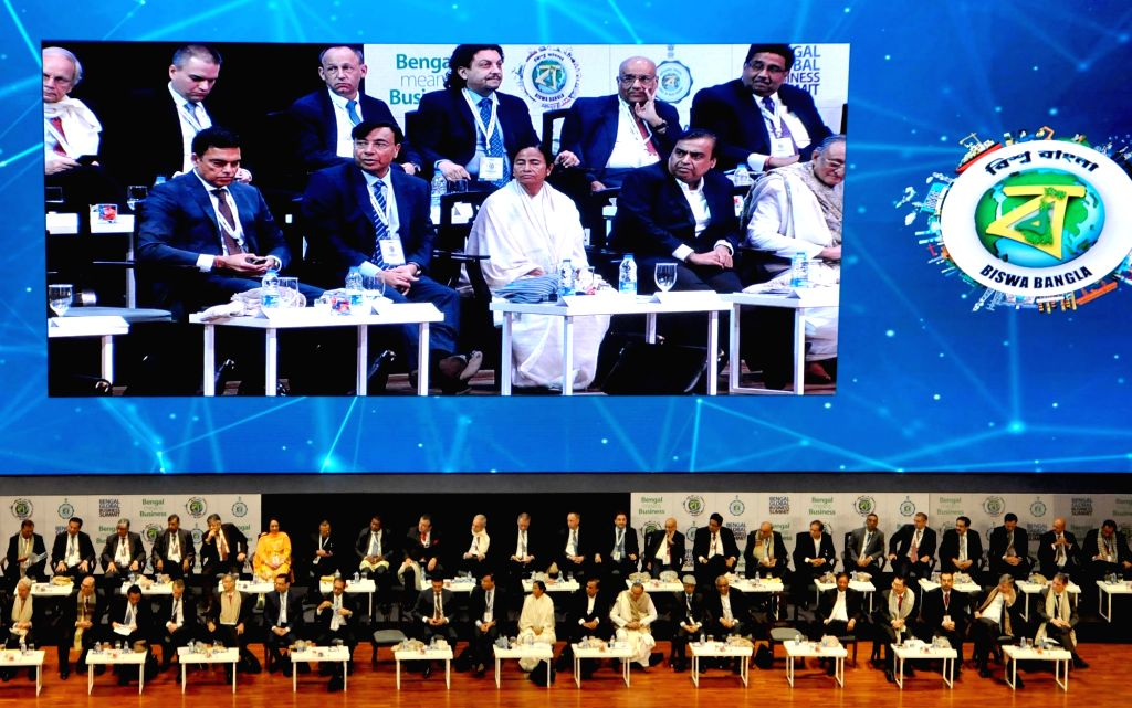 Amid the slower economic growth in the country and the ongoing stand-off between the Centre and the state, the Mamata Banerjee-led West Bengal government will kick start the fifth edition of annual two-day business summit on Thursday. (Photo: Kuntal  - Mamata Banerjee