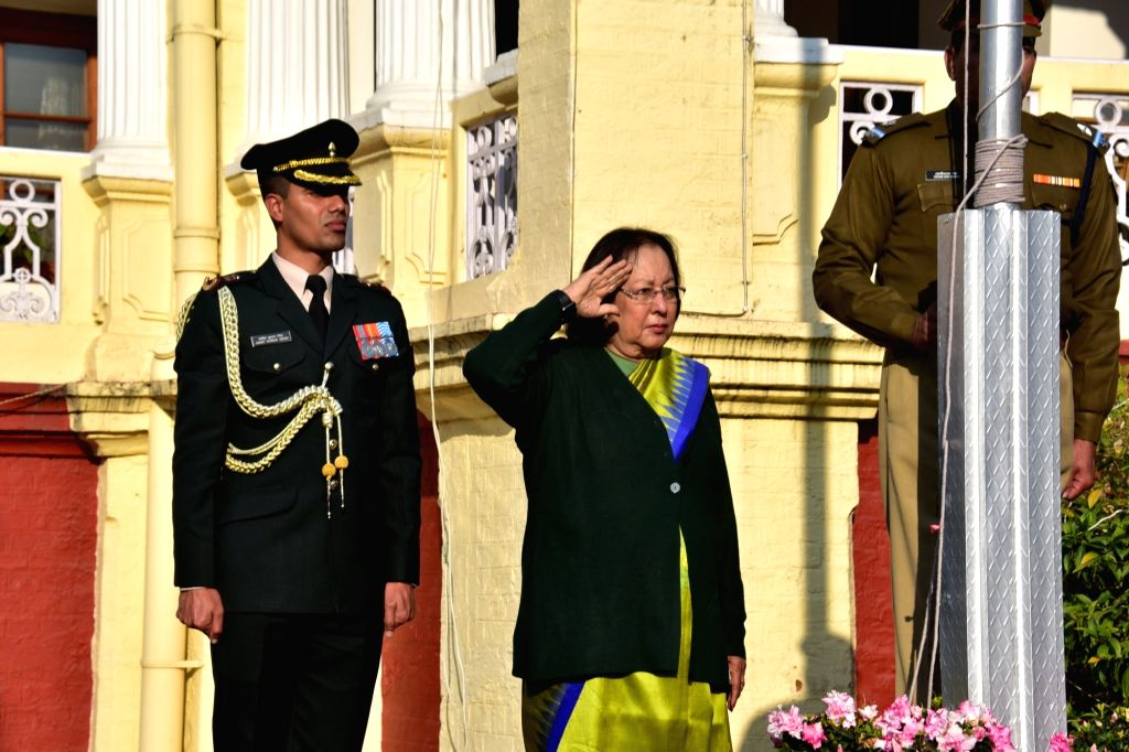 Amid unprecedented security arrangements, the 71st Republic Day was celebrated across Manipur on Sunday with Governor Najma Heptulla unfurling the national flag in the main function at the historic ... - Najma Heptulla