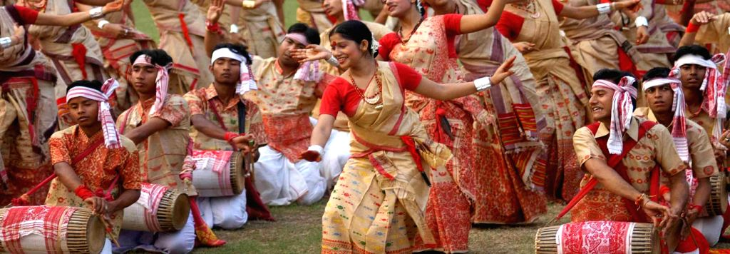 Amids Covid surge, subdued Bihu in Assam.
