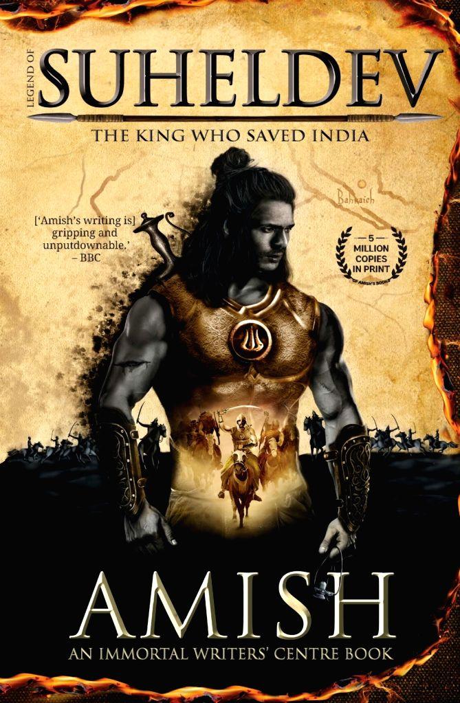 Amish Tripathi launches new book 'Legend of Suheldev'. - Tripathi