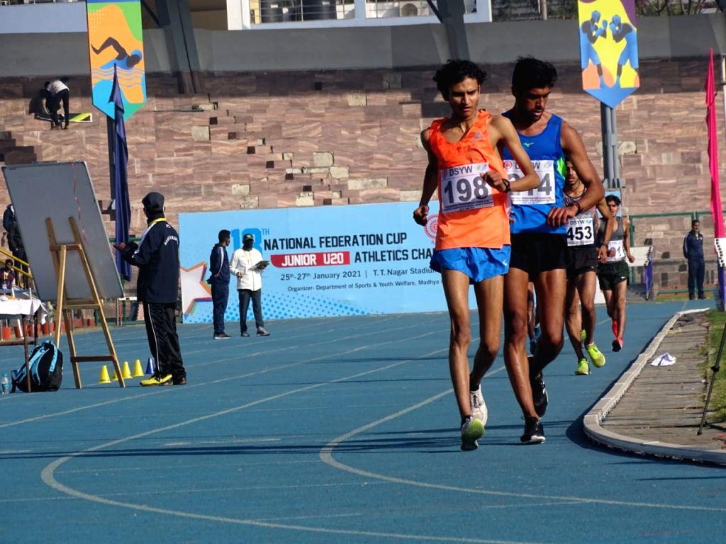 Amit Khatri Chest No. 198 (Orange Bib).