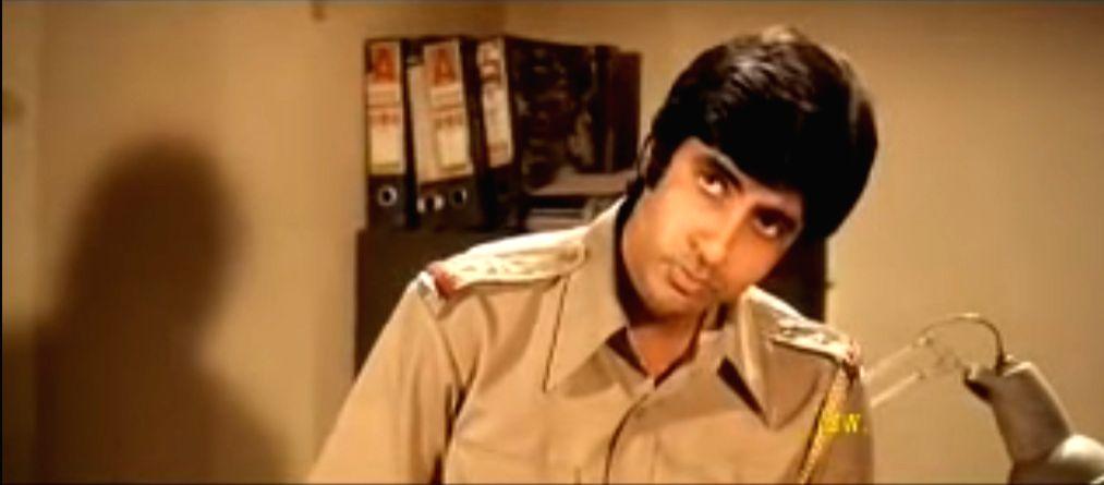Amitabh Bachchan in Zanjeer. - Amitabh Bachchan