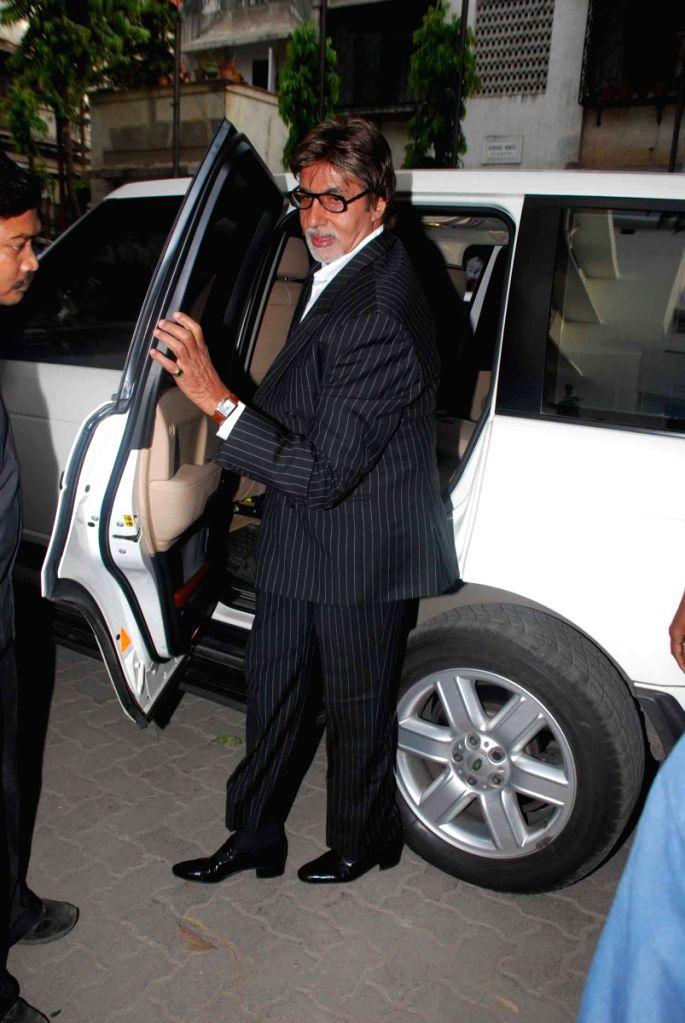 Amitabh Bachchan launches Asha Parekh hospital.