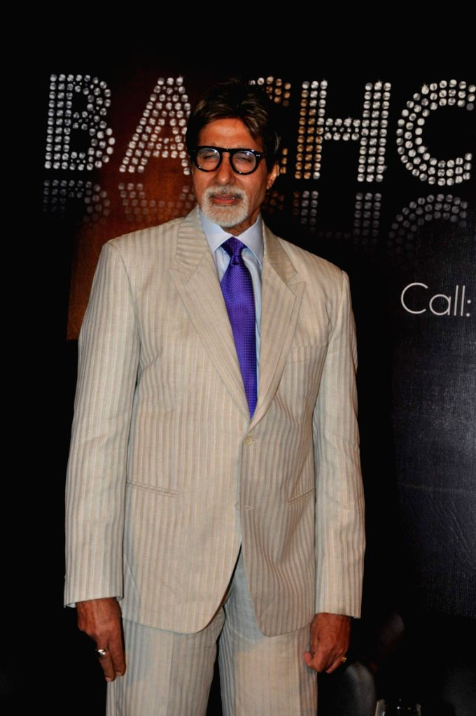 Amitabh Bachchan unveils Bachchan Bol at Trident in Mumbai on Tuesday Evening.
