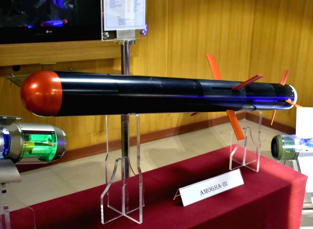 Amogha-III anti-tank guided missiles. (File Photo: IANS)