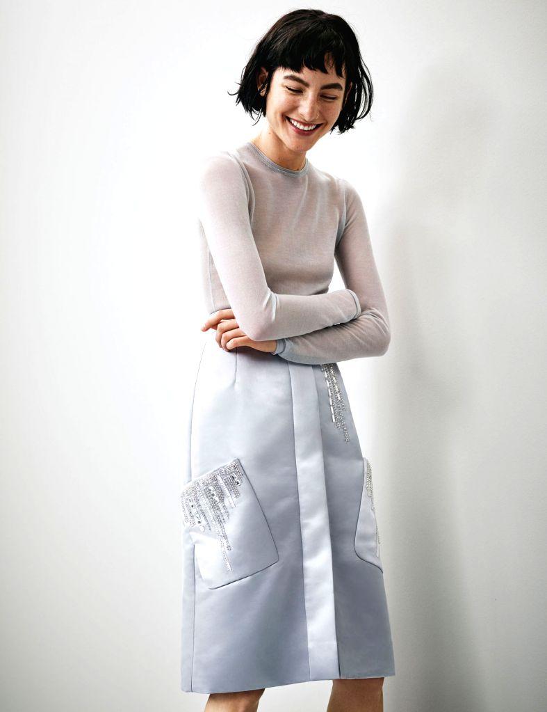Amour Long Sleeve Blouse & Thalassa Deco Skirt
