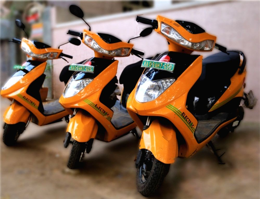 Ampere launches new electric 2-wheeler for Rs 68,999 .