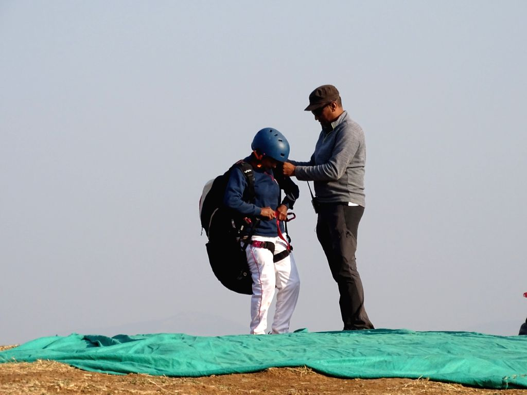 Amrapali Chavan, who lost her left leg in the infamous German Bakery blast, created history by becoming the first handicapped person in India to paraglide from the 2,200 feet high Kamshet Peak ...