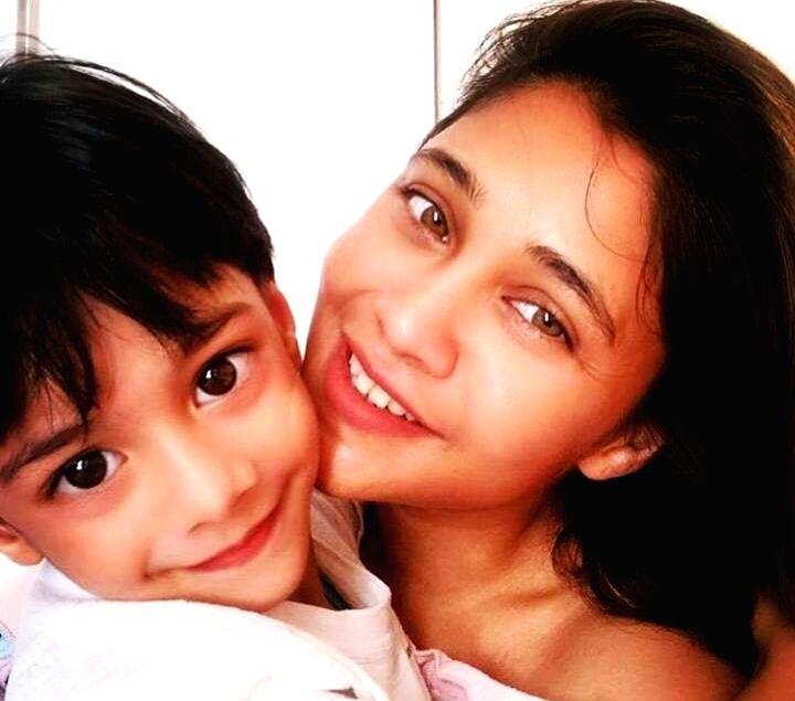 Amrapali Gupta: Lockdown has made me more responsible as a mom. - Amrapali Gupta