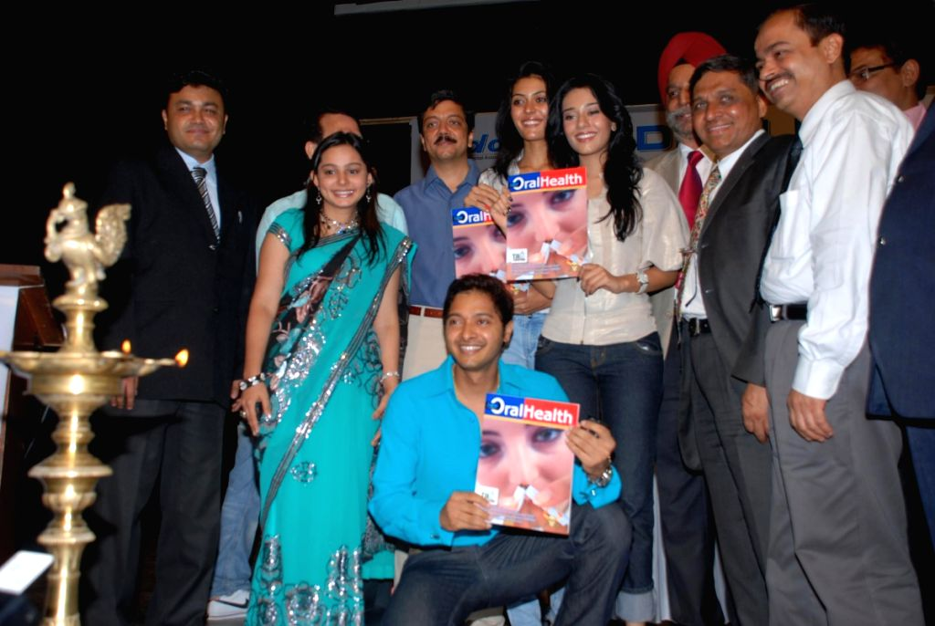 Amrita Rao and Shreyas Talpade at IDA no tobacco event.