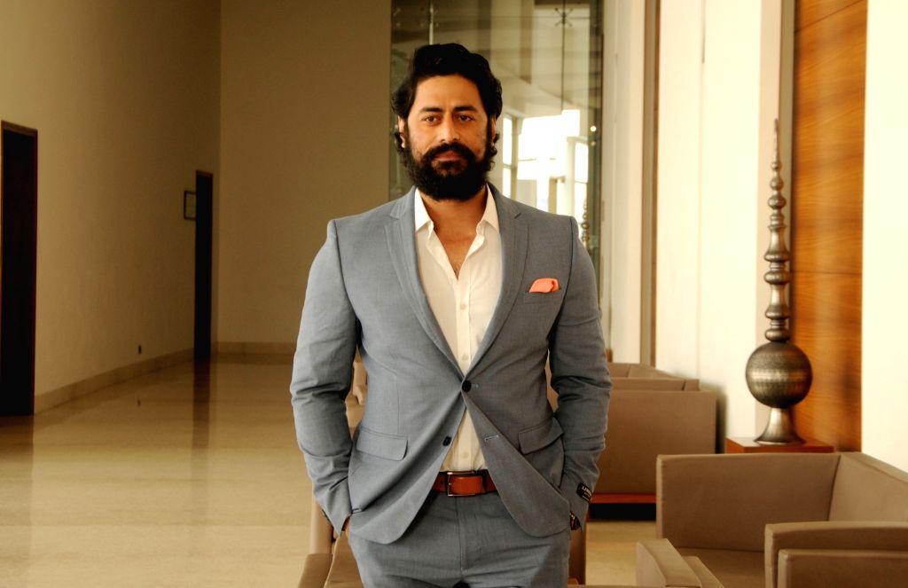 Amritsar: Actor Mohit Raina during the promotion of his upcoming television show '21 Sarfarosh - Saragarhi 1897' in Amritsar on Jan 22, 2018. (Photo IANS) - Mohit Raina