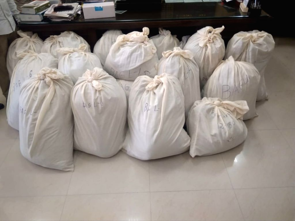 Amritsar: In the biggest seizure of narcotics being smuggled from Pakistan in recent years, the Customs seized over 500 kg heroin, valued at around Rs 2,700 crore, concealed in a consignment of salt. The seizure of 532 kg heroin at the Integrated Che