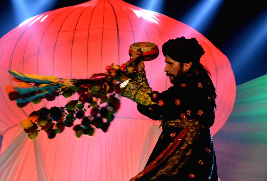 Indian and Pakistani artists perform during the 11th Amritsar-Lahore Peace Festival - `Saanjh` in Amritsar, on Nov 30, 2014.