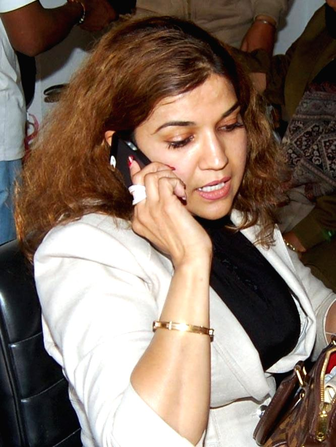 Manjita Dhillon, a US citizen of Indian origin, who was detained at the Amritsar International Airport with 25 live bullets when she was trying to board a flight to New Delhi, in Amritsar, ...