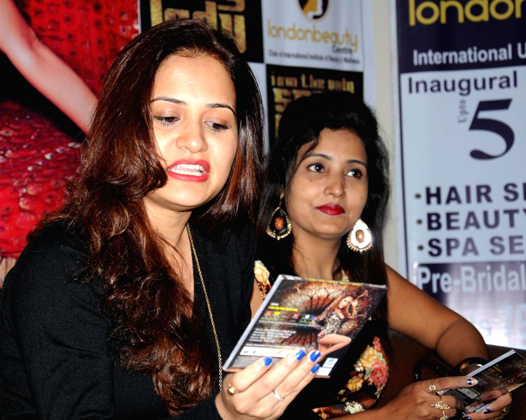Singer and actor Liza Malik during promotion for her album `I AM The Only Sexy Lady` in Amritsar, on Nov 12, 2014.