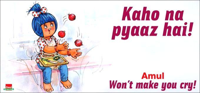 Amul's onion ad campaign amuses Twitterati