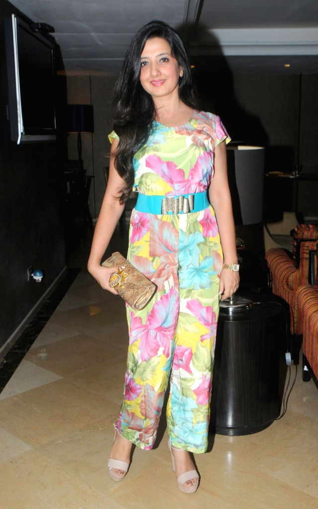 Amy Billimoria during the launch of Dilbagh Singh`s music album The Victorian Secrets in Mumbai on July 21, 2014. - Dilbagh Singh