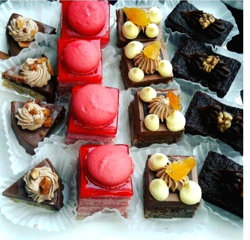 An Array of Bakery Products at L\'Opera