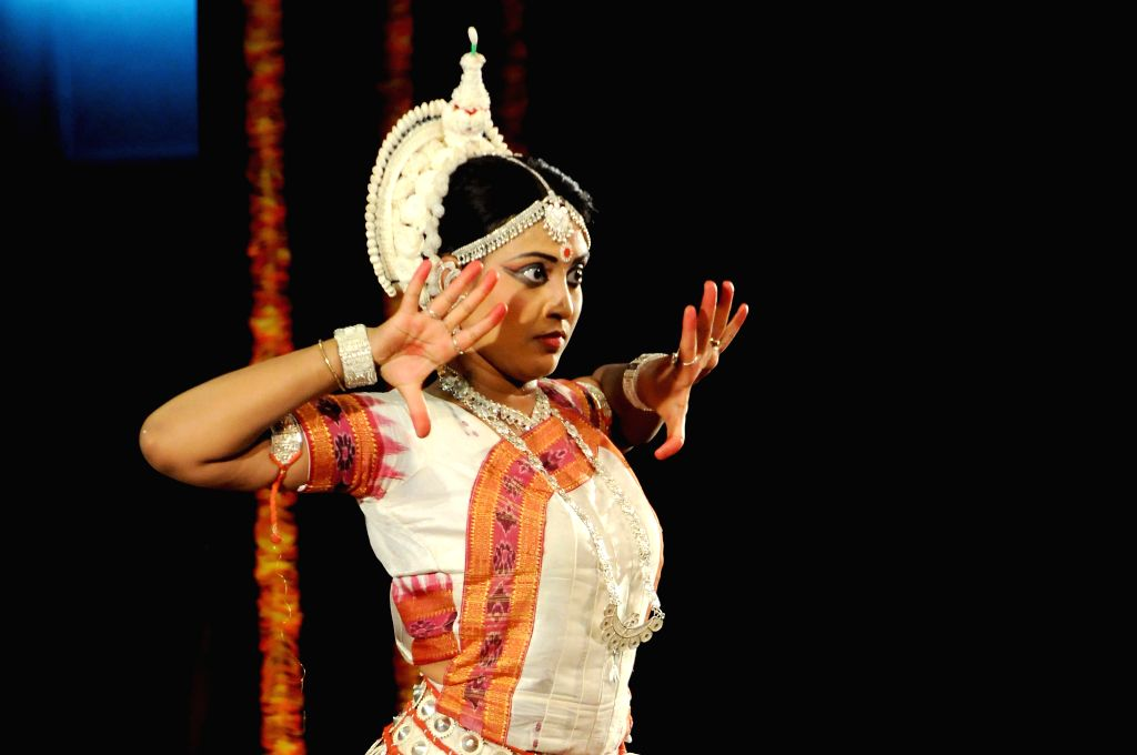 An artist performs during a a programme organised on 'World Dance Day' at Ravindra Kalakshetra in Bangalore on April 29, 2014.