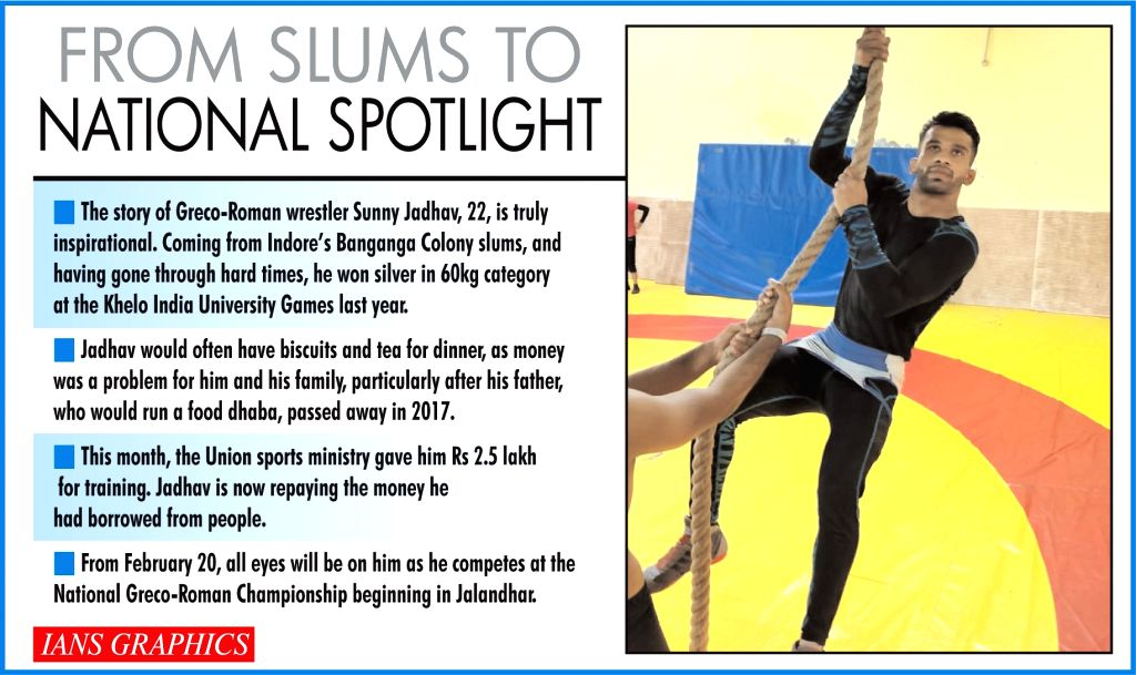 An inspirational story of a wrestler from Indore slums (IANS Special).