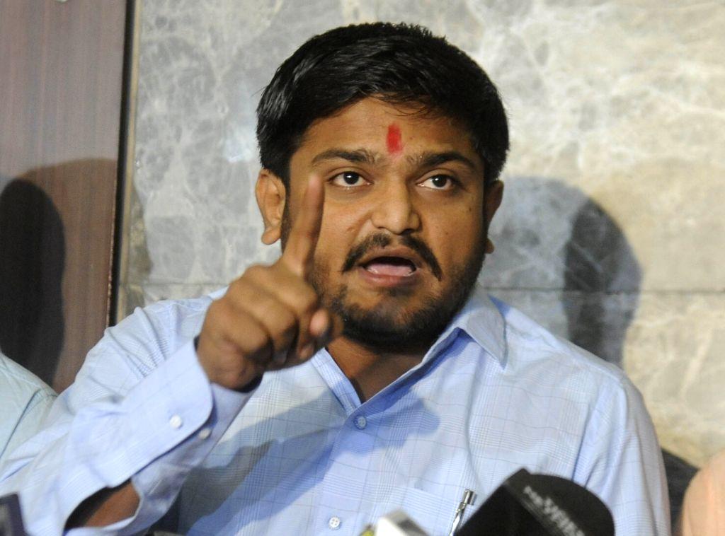 Anamat Andolan Samiti (PAAS) leader Hardik Patel. (File Photo: IANS) - Hardik Patel