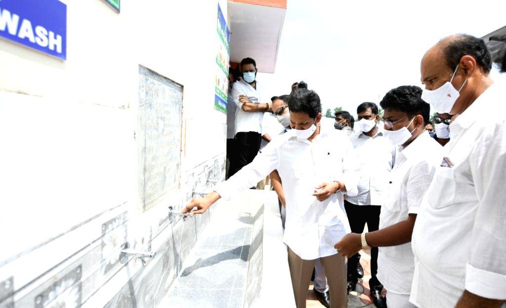 Andhra CM launches 'Jagananna Vidya Kanuka' scheme for govt schools.