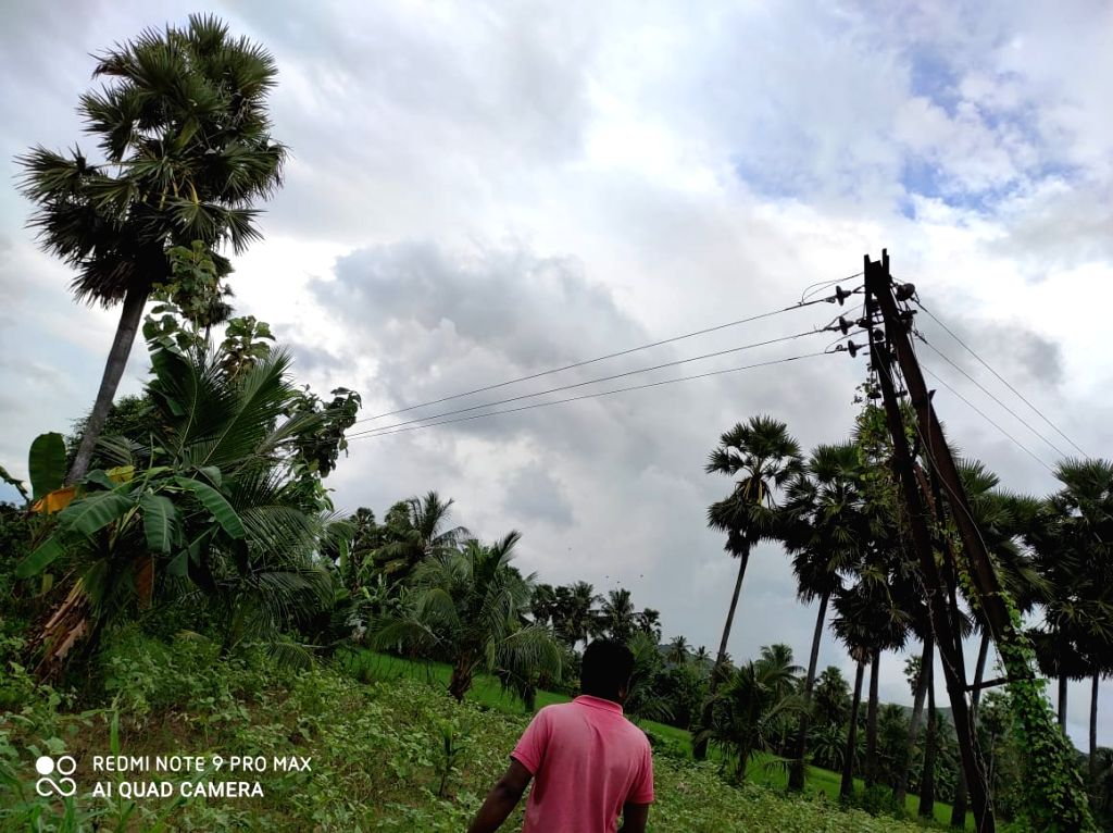 Andhra engineers use drone to restore power across raging river