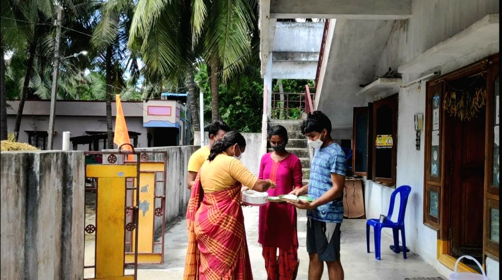 Andhra family turns ancestral home into covid isolation ward.