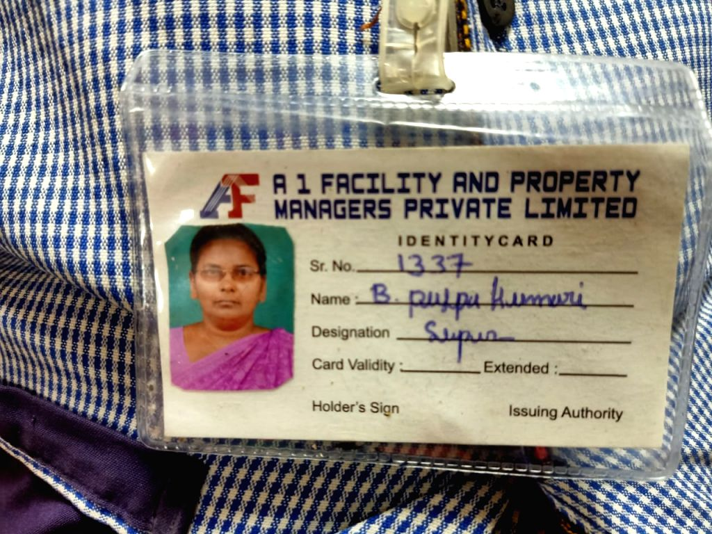 Andhra health dept sweeper receives first Covid vaccine shot in Vijayawada