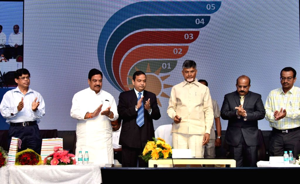 Andhra Pradesh Chief Minister N. Chandrababu Naidu at the launch of Bharat Energy Storage Technology Private Limited (BEST) thermal battery - first-of-its-kind cell - aimed at boosting up ... - N. Chandrababu Naidu