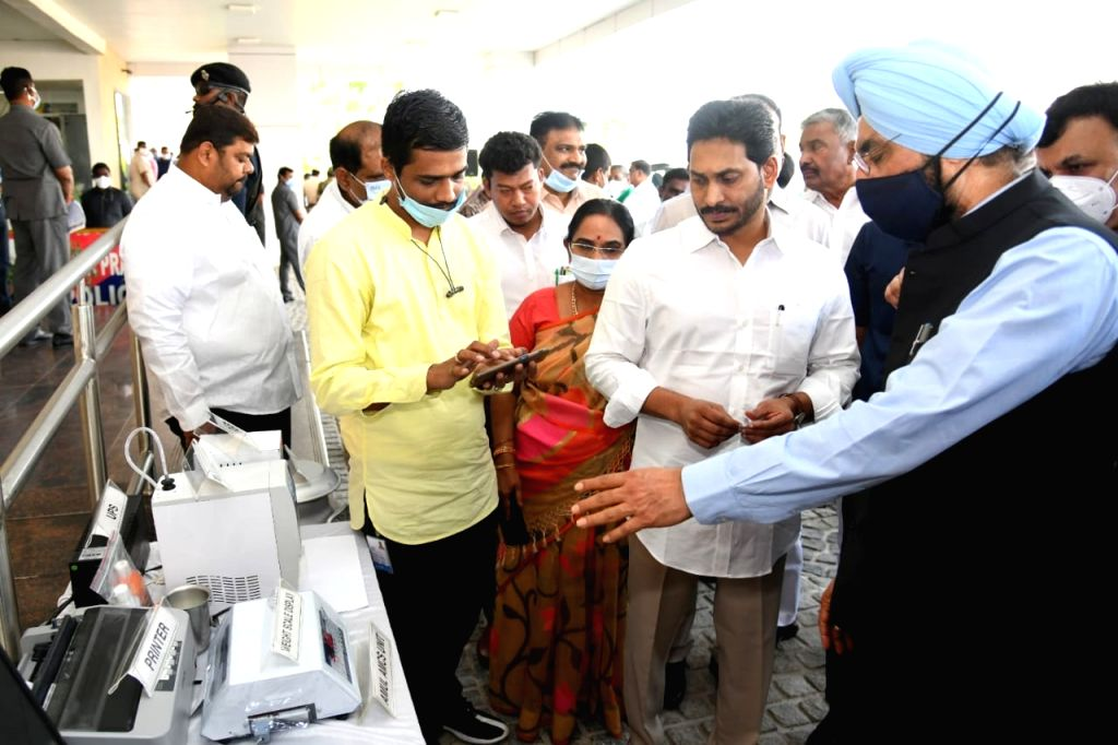 Andhra Pradesh Chief Minister Y S Jagan Mohan Reddy launched the first phase of Andhra Pradesh-Amul project in the presence of Gujarat Cooperative Milk Marketing Federation Managing ... - Y S Jagan Mohan Reddy