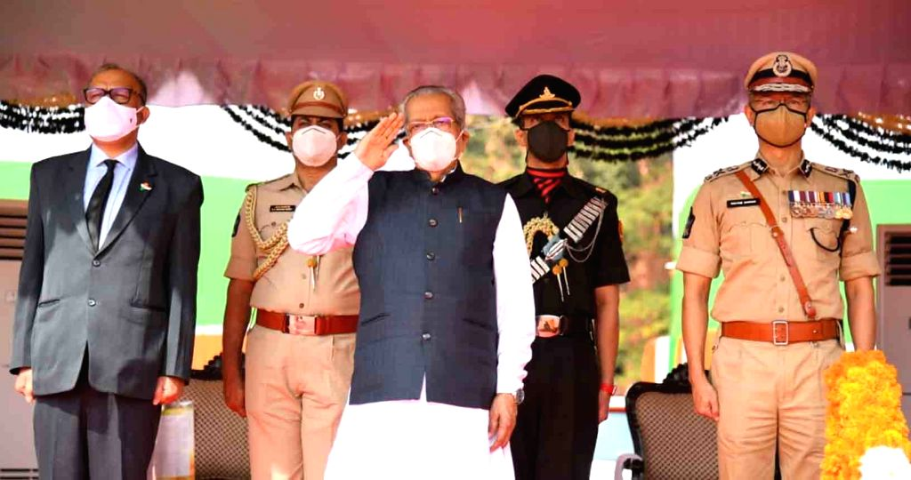 Andhra Pradesh Governor Biswabhushan Harichandan 72nd Republic Day celebrations  at the Indira Gandhi Municipal Stadium in Vijayawada and Chief Minister YS Jaganmohan Reddy were present on the ... - Jaganmohan Reddy