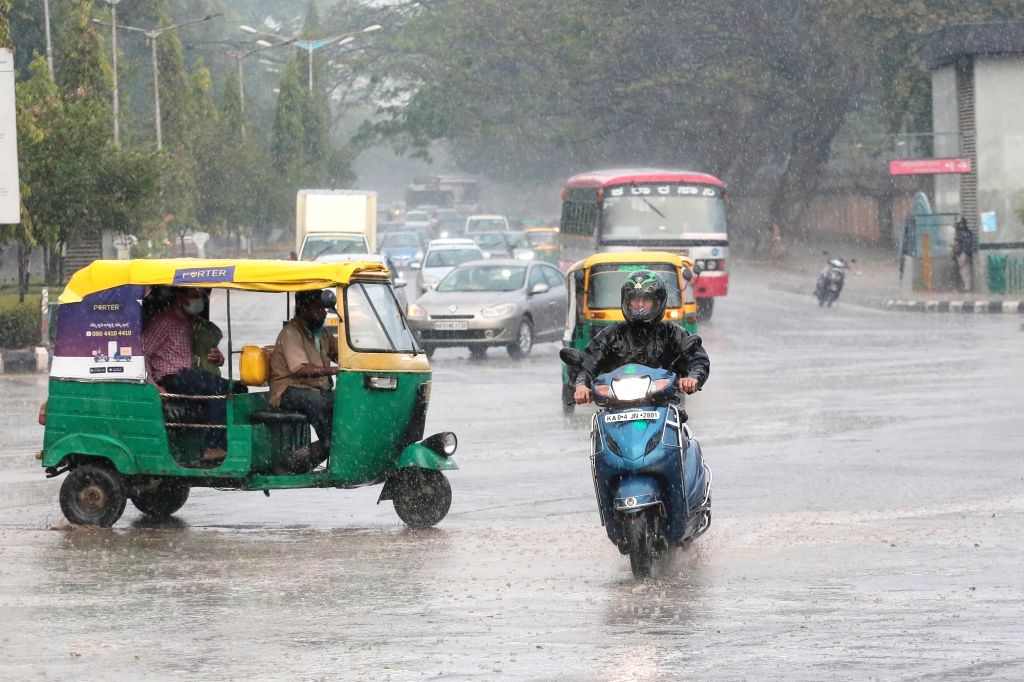 Andhra Pradesh sees unusual February rains  - photo by IANS.