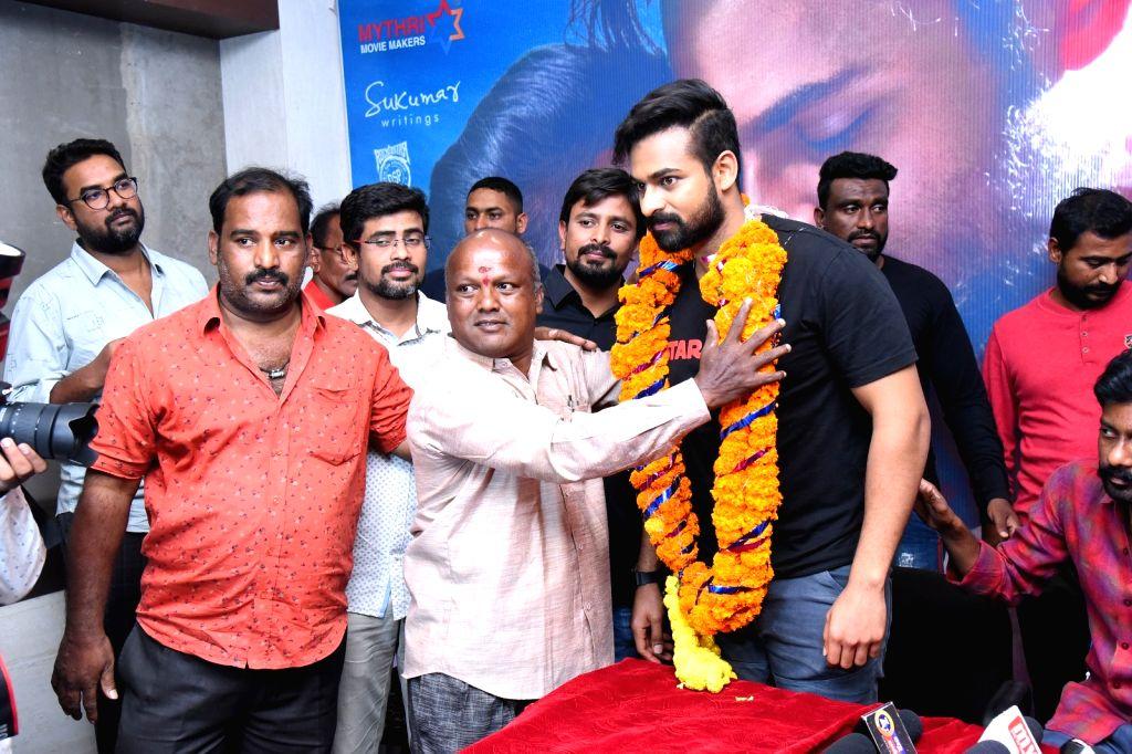 Andhra Pradesh: Uppena team Success tour Vizag.