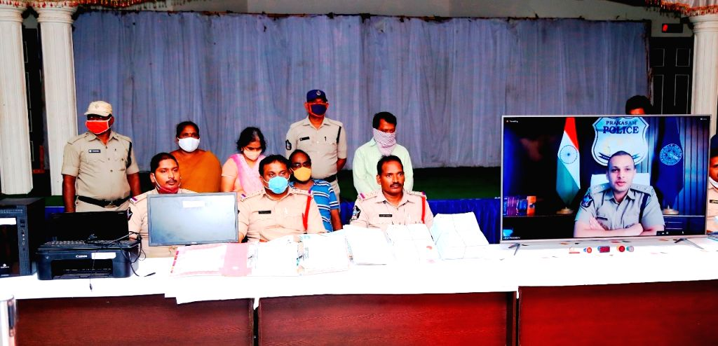Andhra's Ongole police bust nationwide fake certificate racket.