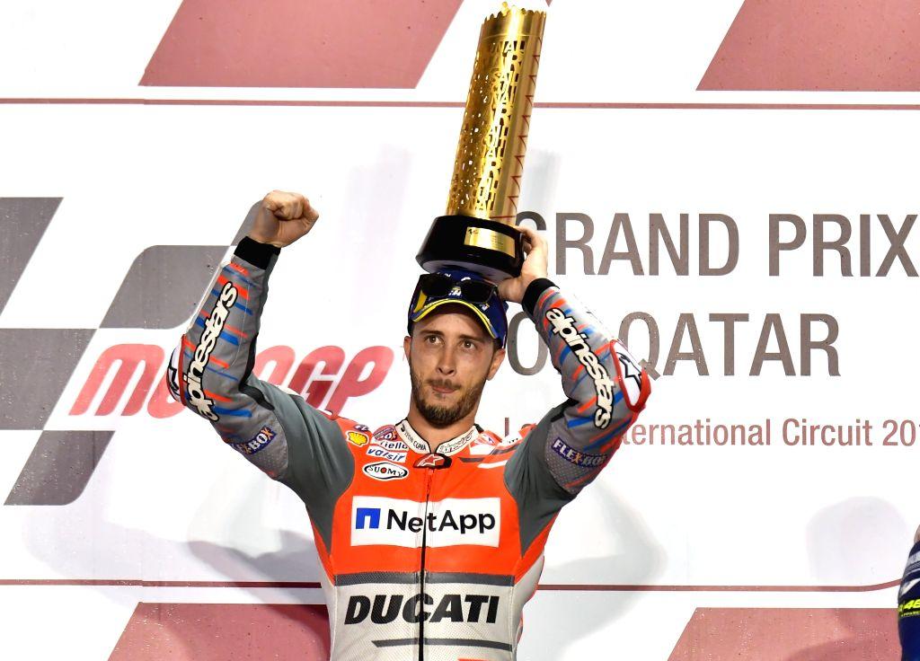 Andrea Dovizioso. (File Photo: Xinhua/Nikku/IANS)