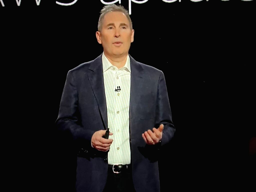 Andy Jassy, the CEO of Amazon Web Services.