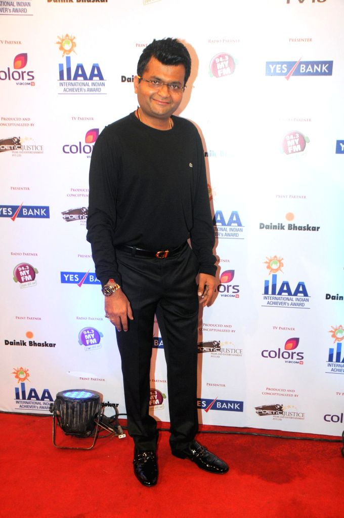 Aneel Murarka during the International Indian Achiever`s Award 2014 presented by YES BANK in Mumbai on July 28, 2014.