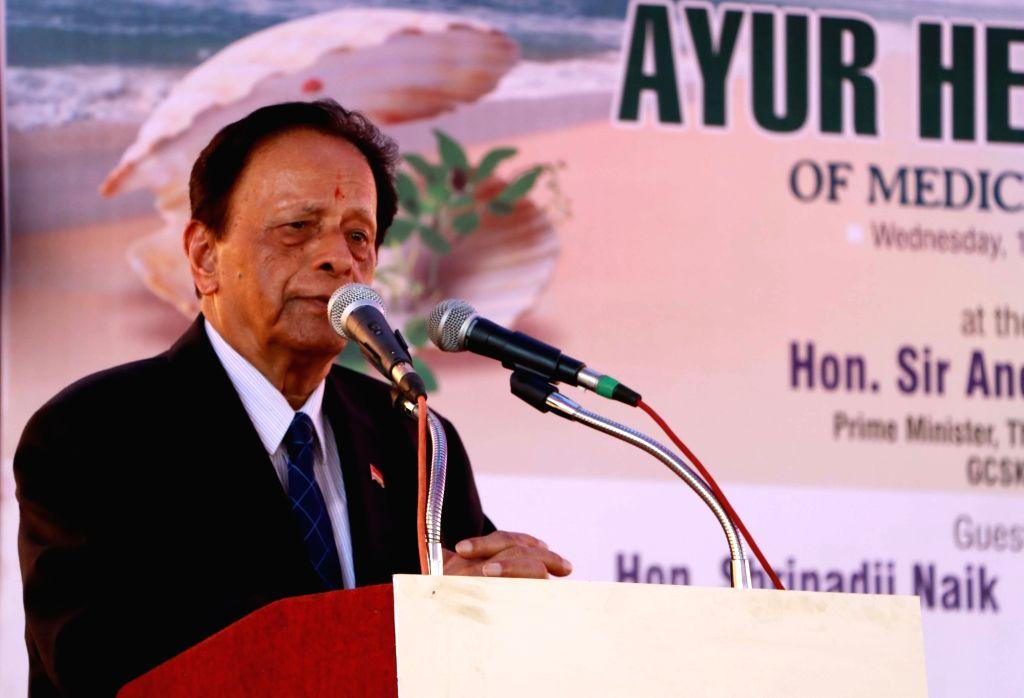Anerood Jugnauth. (Photo: IANS)
