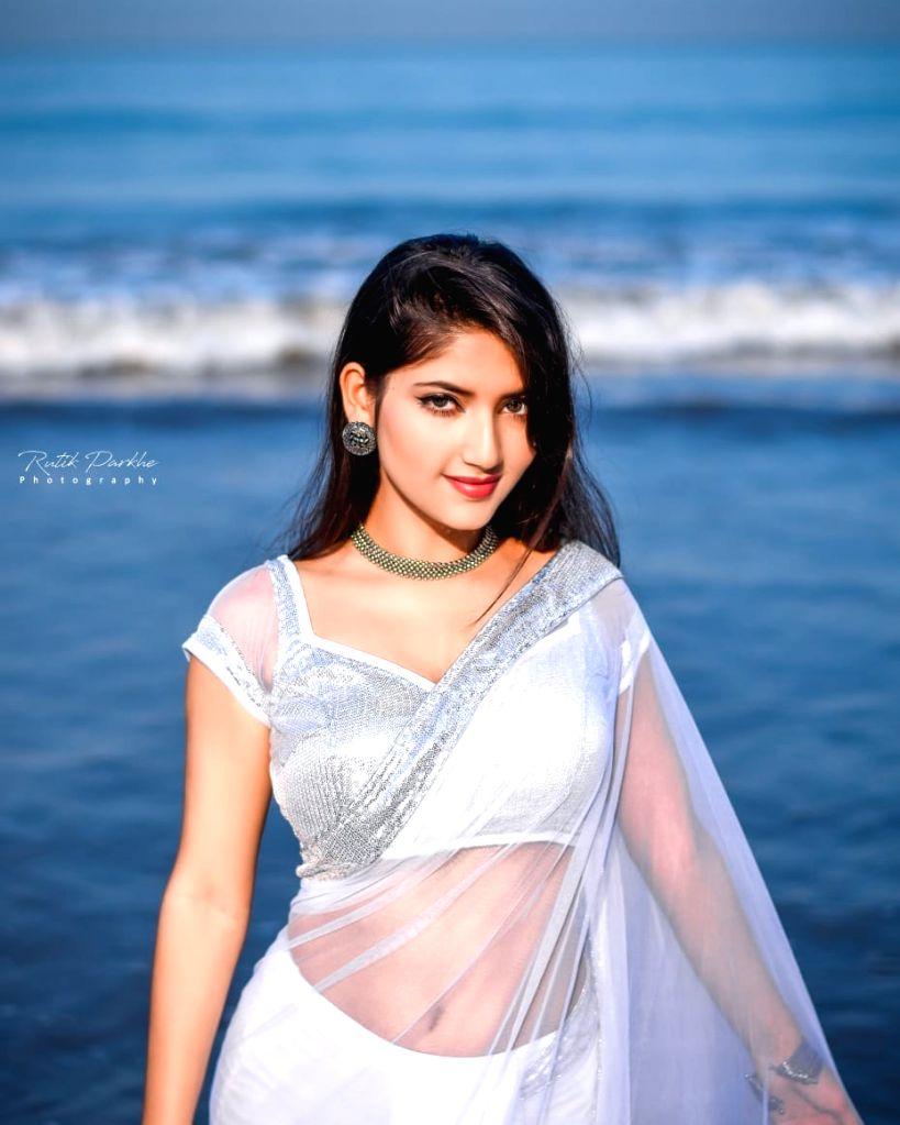 Angel Rai, who is popular on social media, is now ready to enter the cinema. - Rai