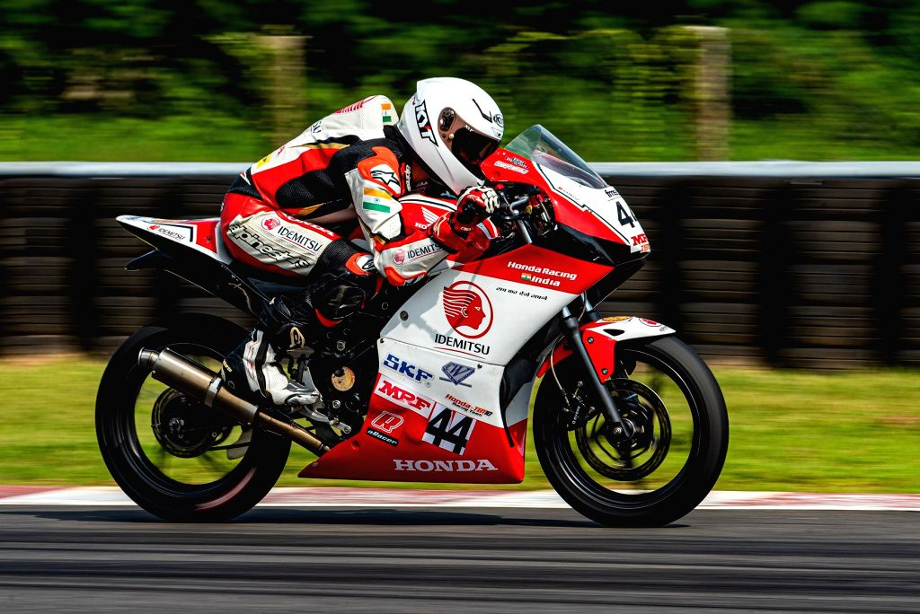 Anish Shetty maintains his championship in the PS201-300cc category - Anish Shetty