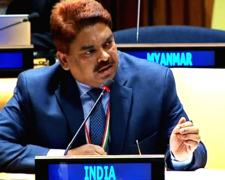 Anjani Kumar, Counsellor in the Indian Mission to the United Nations. (Photo: UN/IANS) - Anjani Kumar