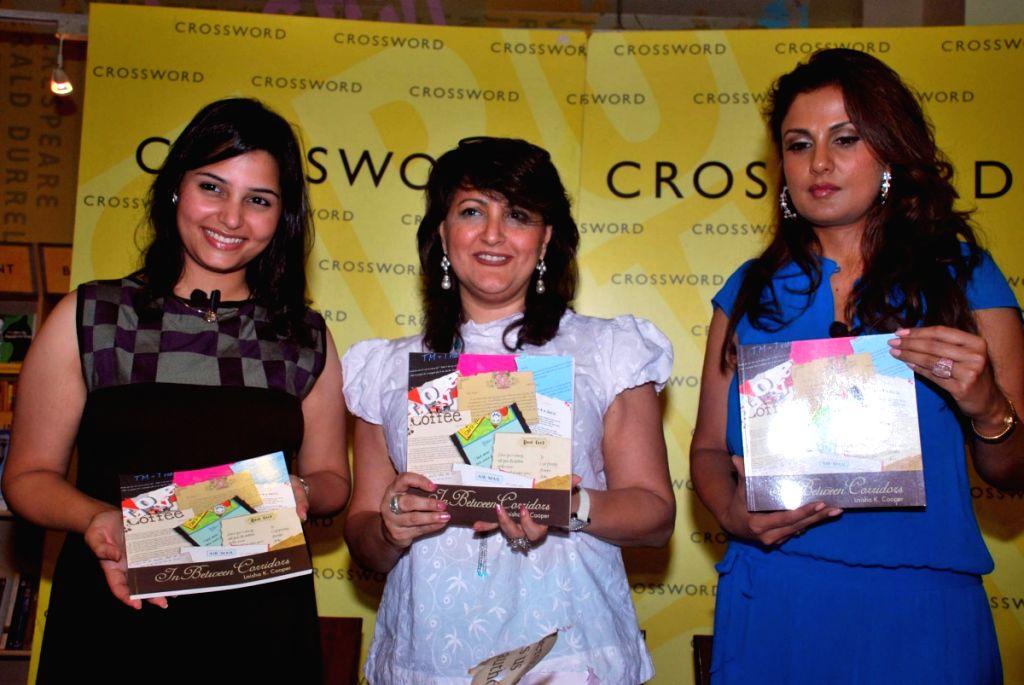 Anju Taraporewala at In between Corridors bok by Laisha Cooper