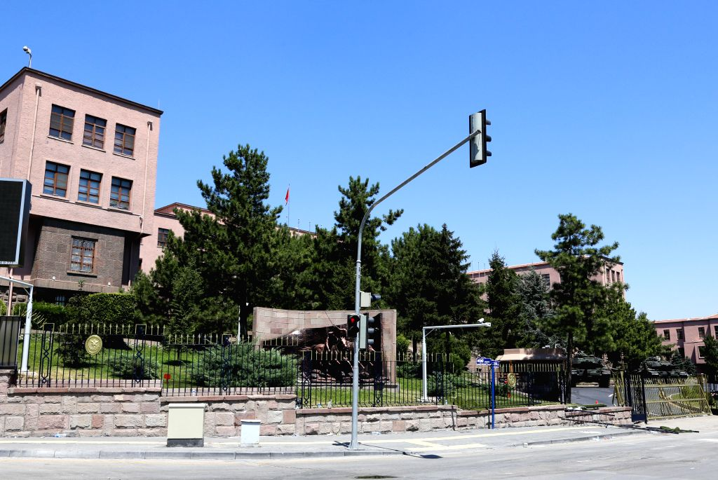ANKARA, July 17, 2016 - The building of Turkish general staff is seen in Ankara, Turkey, July 17, 2016. Turkish Prime Minister Binali Yildirim said on Saturday that at least 161 people, including 20 ... - Binali Yildirim