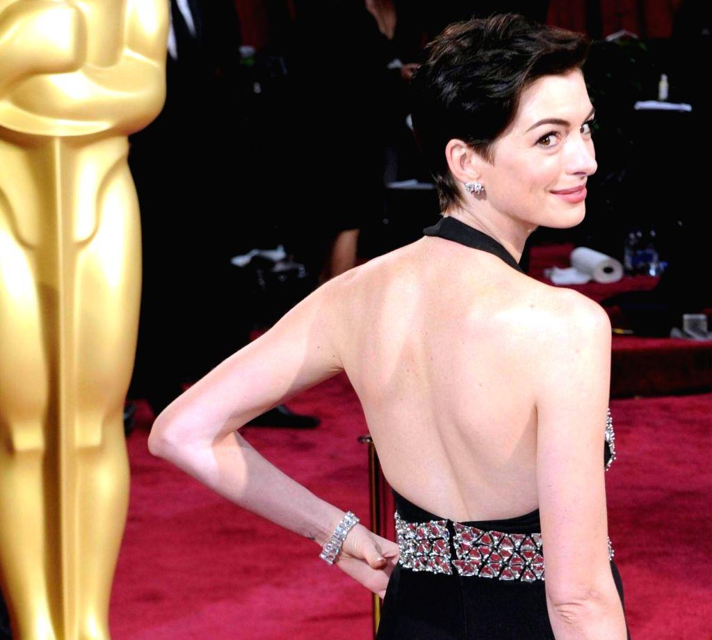 Anne Hathaway. (File Photo: IANS)