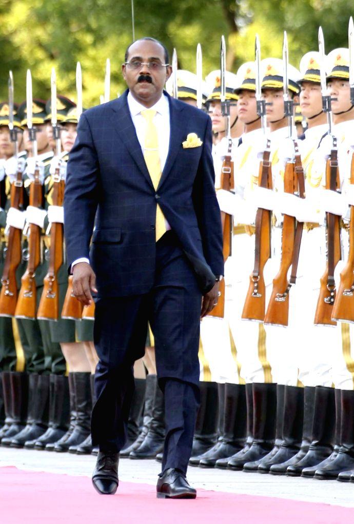 Antigua and Barbuda Prime Minister Gaston Browne. (File Photo: IANS) - Gaston Browne